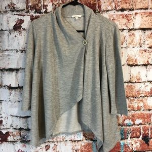 Maurices grey one button cardigan
